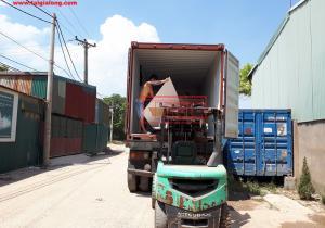 Bàn giao tấm chống cháy 6mm cho đơn vị đối tác tại Đê Thượng Cát, Hà Nội