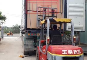 bàn giao tấm da cửa HDF kháng ẩm lõi xanh 6mm cho đơn vị đối tác tại Đại Lộ Thăng Long, Hà Nội