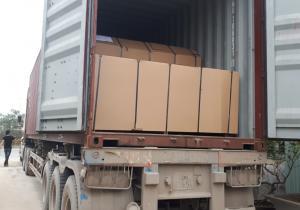 Bàn giao container 40 feet tấm da cửa 5mm phủ tần bì cho đơn vị bạn tại Đại Lộ Thăng Long, Hà Nội