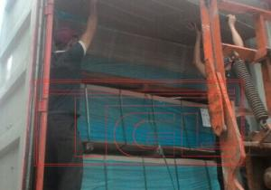Bàn giao container tấm da cửa malaysia 2 panel và 4 panel cho đơn vị đối tác tại Đà Nẵng