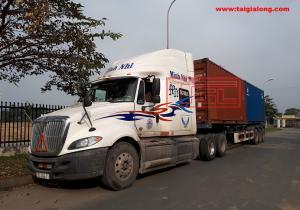 Giao container hàng MGO chống cháy 1220x2440x5mm tại Phúc Diễn Hà Nội