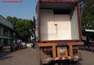Bàn giao tấm chống cháy 6mm cho đơn vị bạn tại Nam Hồng, Đông Anh