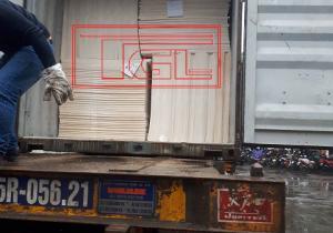 Bàn giao tấm Eron-MgO chống cháy 5mm cho khách hàng tại KCN Lại Yên, Hoài Đức, Hà Nội